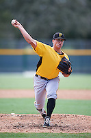 Pittsburgh Pirates pitcher Dylan Prohoroff (67) during an Instructional League Intrasquad Black & Gold game on September 28, 2016 at Pirate City in Bradenton, Florida.  (Mike Janes/Four Seam Images)