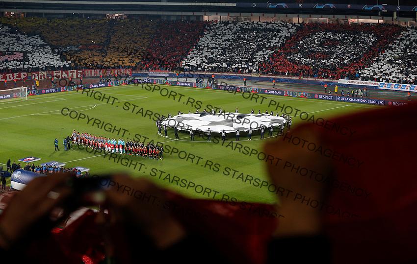 Total General Overview stadium Rajko Mitic, Marakana during UEFA Champions Legaue football match between Crvena Zvezda and PSG Paris Saint Germain in Belgrade, Serbia on December 11. 2018. (credit image & photo: STARSPORT/ Pedja Milosavljevic)