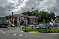 Pictured: A general view of the Smith Arms pub on Main Road, Neath Abbey, Skewen area of Neath, South Wales, UK. Monday 02 September 2019<br /> Re: Six teenagers have been arrested after a man died in Neath Port Talbot.<br /> The 58-year-old victim was attacked on Main Road, Neath Abbey at about 00:55 BST on Sunday.<br /> South Wales Police said six boys, aged between 14 and 17, remained in custody but did not say what they were being held on suspicion of.