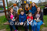 Shane Carey from Tralee celebrating his 10th birthday on Sunday in the playground in the town park. Seated l to r: Mary and Shane Carey, Oisin and Ciara O'Shea. Back l to r: David Hobbert, Culainn O'Shea, Lucy Carey and Aoife Casey.