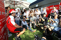 F1 GP of Australia, Melbourne 26. - 28. March 2010.Fernando Alonso (ESP),  Scuderia Ferrari ..Picture: Hasan Bratic/Universal News And Sport (Europe) 26 March 2010.