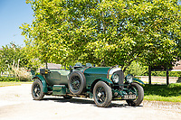 BNPS.co.uk (01202 558833)<br /> Pic: Bonhams/BNPS<br /> <br /> A classic 1926 Bentley owned by Pink Floyd's former manager Steve O'Rourke is tipped to sell for a staggering £600,000.<br /> <br /> The immaculate six and a half litre tourer with dark green paint work and a leather interior was added to his extensive collection in 1980.<br />  <br /> As well as being a famous manager, he was a prolific motor-sport enthusiast known for racing with band members including drummer Nick Mason and guitarist David Gilmour.