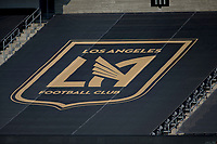 LOS ANGELES, CA - AUGUST 22: Los Angeles Football Club during a game between Los Angeles Galaxy and Los Angeles FC at Banc of California Stadium on August 22, 2020 in Los Angeles, California.