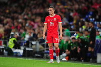 Connor Roberts of Wales during the UEFA Nations League B match between Wales and Ireland at Cardiff City Stadium in Cardiff, Wales, UK.September 6, 2018