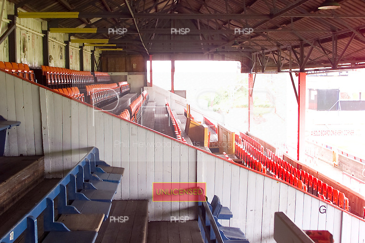 23/06/2000 Blackpool FC Bloomfield Road Ground..West stand, north section....© Phill Heywood.