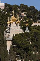 Asie/Israël/Judée/Jérusalem: L'église russe Sainte -Marie-Madeleine