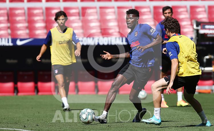 Atletico de Madrid's Thomas Partey during training session. June 19,2020.(ALTERPHOTOS/Atletico de Madrid/Pool)