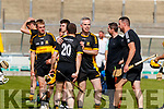 Dr Crokes team celebrate after winning the Kerry County Intermediate Hurling Championship Final match between Dr Crokes and Tralee Parnell's at Austin Stack Park in Tralee