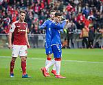 26.02.2020 SC Braga v Rangers: Ianis Hagi after seeing his penalty kick saved