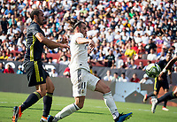 Landover, MD. - Saturday, August 4, 2018: Real Madrid defeated Juventus 3-1 in an International Champions Cup match at Fedex Field.