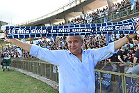 Terni 13-05-2017 Football Calcio Serie B Ternana - Spal foto Antonello Sammarco/Image Sport/Insidefoto<br /> nella foto: Francesco Colombarini Presidente Spal Esultanza Promozione Serie A