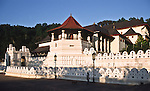 Tooth temple in Kandy, Sri Lanka