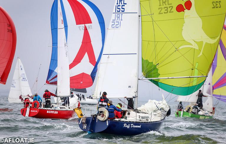Ruffian 23 racing on Dublin Bay