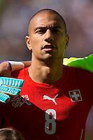 Gokhan Inler of Switzerland