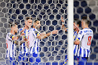 30th April 2021; Dragao Stadium, Porto, Portugal; Portuguese Championship 2020/2021, FC Porto versus Famalicao; Mehdi Taremi of FC Porto celebrates his penalty goal in the 61th minute 2-1