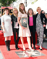 Beth Hall + Anna Farris + Allison Janney + Mimi Kennedy + Jaime Pressly @ her Walk of Fame ceremony held @ 6100 Hollywood blvd. October 17, 2016