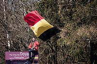 roadside fan<br /> <br /> 107th Liège-Bastogne-Liège 2021 (1.UWT)<br /> 1 day race from Liège to Liège (259km)<br /> <br /> ©kramon