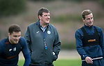 St Johnstone training…25.08.17<br />Managr Tommy Wright pictured training at McDiarmid Park this morning ahead of tomorrows game at Celtic.<br />Picture by Graeme Hart.<br />Copyright Perthshire Picture Agency<br />Tel: 01738 623350  Mobile: 07990 594431