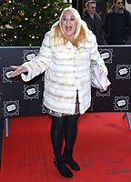 Vanessa Feltz<br /> arriving for the TRIC Christmas Party, Grosvenor House Hotel, London.<br /> <br /> <br /> ©Ash Knotek  D3362  12/12/2017