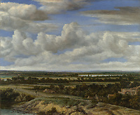 Full title: An Extensive Landscape with a Road by a River<br /> Artist: Philips Koninck<br /> Date made: 1655