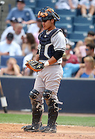 April 3, 2010:  Catcher Jose Gil of the New York Yankees playing in the annual Futures Game during Spring Training at Legends Field in Tampa, Florida.  Photo By Mike Janes/Four Seam Images