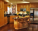 New model home kitchen for Anastasi Development.