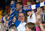 St Johnstone v Rosenborg....25.07.13  Europa League Qualifier<br /> St Johnstone fans in good spirits<br /> Picture by Graeme Hart.<br /> Copyright Perthshire Picture Agency<br /> Tel: 01738 623350  Mobile: 07990 594431