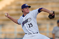 Starting pitcher Jacob Rasner #25 of the Winston-Salem Dash in action versus the Salem Red Sox at Wake Forest Baseball Stadium July 7, 2009 in Winston-Salem, North Carolina. (Photo by Brian Westerholt / Four Seam Images)