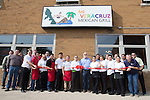 February 20, 2017- Tuscola, IL- The ribbon cutting for Mi Veracruse Mexican Grill on their first day of business.  [Photo: Douglas Cottle]