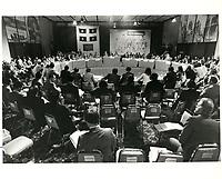 Les ministres des finances du commonwealth<br /> en reunion a Montreal,  septembre 1978, au Hyatt<br /> <br /> <br /> PHOTO : JJ Raudsepp  - Agence Quebec presse