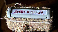 Keeper of the Light Stamp at the Shipreck Museum, Warrnambool