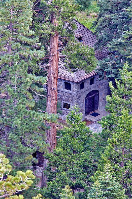 Stone building at Emerald Bay. California