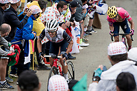 Richie Porte (AUS/Trek-Segafredo) up the Col de Marie Blanque (1st Cat)<br /> <br /> Stage 9 from Pau to Laruns (153km)<br /> <br /> 107th Tour de France 2020 (2.UWT)<br /> (the 'postponed edition' held in september)<br /> <br /> ©kramon