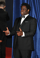 """Jeymes Samuel (The Bullitts) at the 65th BFI London Film Festival """"The Harder They Fall"""" opening gala, Royal Festival Hall, Belvedere Road, on Wednesday 06th October 2021, in London, England, UK. <br /> CAP/CAN<br /> ©CAN/Capital Pictures"""