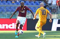 ROME, Italy - September 1, 2013: Roma beats Verona 3-0 during the Serie A match in Olimpico Stadium