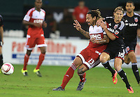 Washington, D.C. - October 28, 2015: D.C. United defeated the New England Revolution 2-1 during the Eastern Conference knockout round of the MLS playoffs at RFK Stadium.