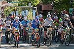 The Pro Female racers start the race during the Epic Rides' Inaugural Carson City Off-Road event on Sunday, June 19, 2016 in Carson City, Nev.<br /> Photo by Kevin Clifford/Nevada Photo Source