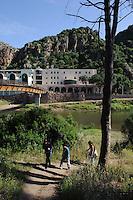 Terme di Casteldoria, am Coghinas-Fluss, Provinz Sassari, Nord - Sardinien, Italien
