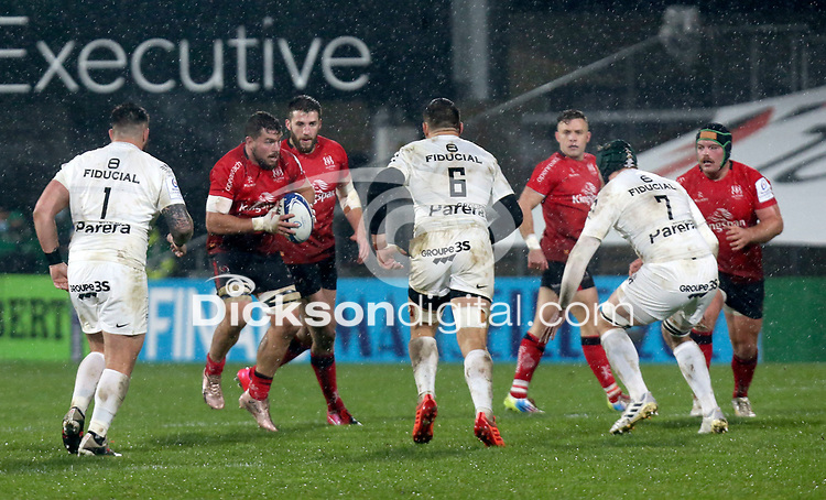 11 December 2020; Sean Reidy during the Heineken Champions Cup Pool B Round 1 match between Ulster and Toulouse at Kingspan Stadium in Belfast. Photo by John Dickson/Dicksondigital
