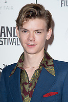 """Thomas Brodie-Sangster<br /> arriving for the """"Stardust"""" premiere part of the Raindance Film Festival 2020, at the Mayfair Hotel, London.<br /> <br /> ©Ash Knotek  D3563 28/10/2020"""