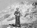 Iraq 1973 .July 22nd, Akram Agha in the mountains .Irak 1973 .Le 22 juillet, Akram Agha dans les montagnes