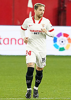 Sevilla FC' Papu Gomez during La Liga match. February 6,2021. (ALTERPHOTOS/Acero)<br /> Liga Spagna 2020/2021 <br /> Sevilla FC Vs Getafe <br /> Photo Acero/Alterphotos / Insidefoto <br /> ITALY ONLY