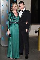 Elise Du Toit and Rafe Spall<br /> at the 2017 BAFTA Film Awards After-Party held at the Grosvenor House Hotel, London.<br /> <br /> <br /> ©Ash Knotek  D3226  12/02/2017
