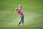 Graeme McDowell of Northern Ireland hits the ball during Hong Kong Open golf tournament at the Fanling golf course on 25 October 2015 in Hong Kong, China. Photo by Aitor Alcade / Power Sport Images