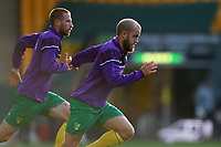 7th November 2020; Carrow Road, Norwich, Norfolk, England, English Football League Championship Football, Norwich versus Swansea City; Teemu Pukki of Norwich City during the warm up