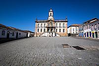 Ouro Preto (MG) 21/04/20 Cidade de Ouro Preto ,  a 100 km de Belo Horizonte,  e fechada ao turismo com decreto municipal em prevencao ao Corona Virus nesta terca feira (21) (Foto: Giazi Cavalcante/Codigo 19/Codigo 19)