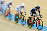 Leung Wing Yee of the Ligne 8- CSR competes in Women Elite - Scratch 7.5KM Final during the Hong Kong Track Cycling National Championship 2017 on 25 March 2017 at Hong Kong Velodrome, in Hong Kong, China. Photo by Chris Wong / Power Sport Images