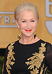 Helen Mirren attends The 20th SAG Awards held at The Shrine Auditorium in Los Angeles, California on January 18,2014                                                                               © 2014 Hollywood Press Agency