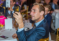 The Hague, The Netherlands, September 13, 2017,  Sportcampus , Davis Cup Netherlands - Chech Republic, Official Dinner, Thiemo de Bakker (NED)<br /> Photo: Tennisimages/Henk Koster