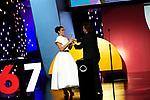 Penelope Cruz and Bono U2 attends in the  Donostia award during the 67th San Sebastian Donostia International Film Festival - Zinemaldia.September 27,2019.(ALTERPHOTOS/Yurena Paniagua)
